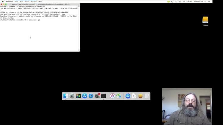 SSH using the Mac Terminal