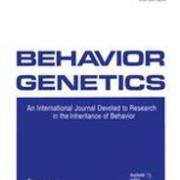 Behavior Genetics cover