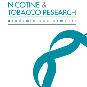 Nicotine & Tobacco Research Cover