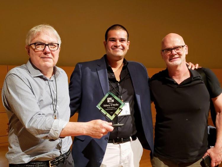DMello Receiving 2019 Award