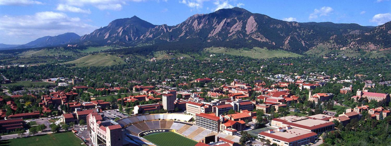 Aerial of Boulder