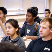 Diverse students at Diversity Summit