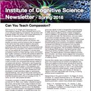 ICS Newsletter Spring 2016