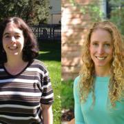 Jennifer Jacobs (left) and Katie Van Horne (right).