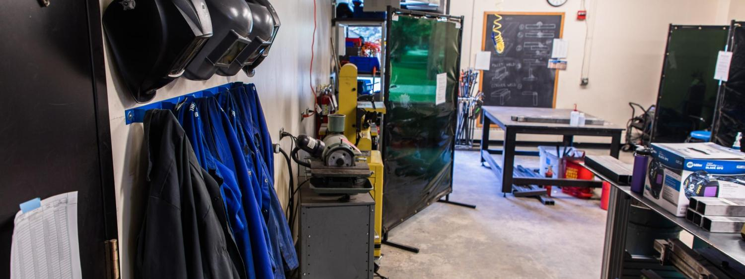 welding shop | idea forge | university of colorado boulder