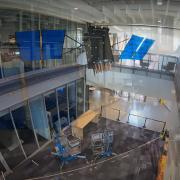 satellite in CU Aerospace building