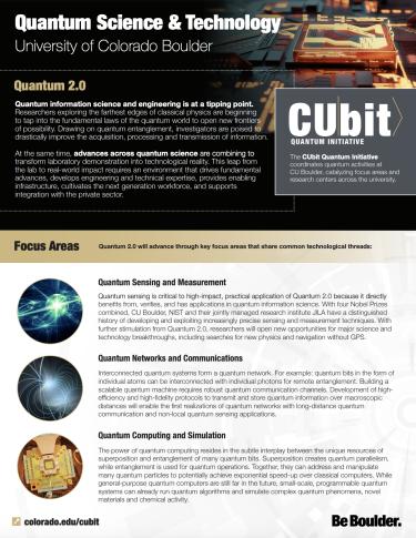 Quantum Science & Technology at CU Boulder - Thumbnail