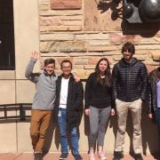 CU Boulder participants at 2019 IBM Q Camp