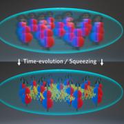 Molecules in Flat Lands: an entanglement paradise