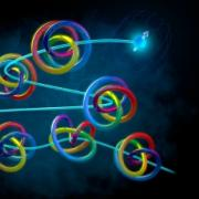 Using quantum knots to build a secure internet