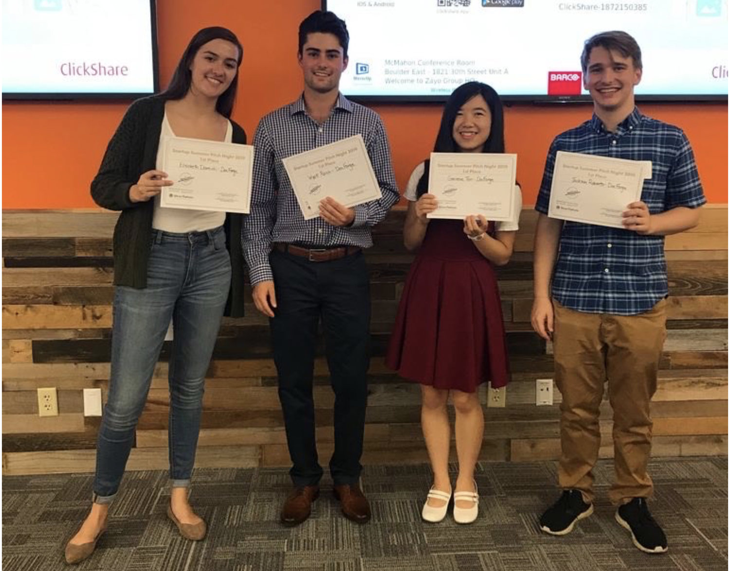 docforge team with certificates