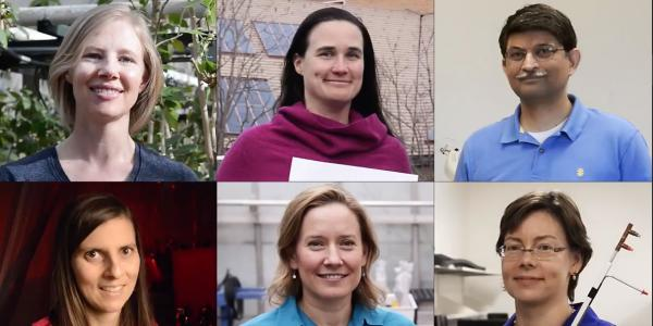 Six CU Boulder researchers were honored by the National Science Foundation with Faculty Early Career Development Awards in 2016.