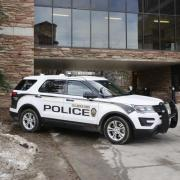 cu boulder police car