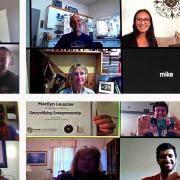demystifying entrepreneurship zoom call