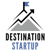 destination startup logo