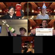 screenshot of docforge team winning new venture challenge
