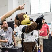 chip cu boulder mascot with emergentek prototype
