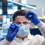 sick stick in lab