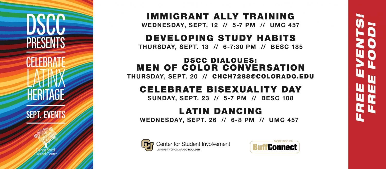 DSCC Programs | Center for Student Involvement (CSI) | University of on