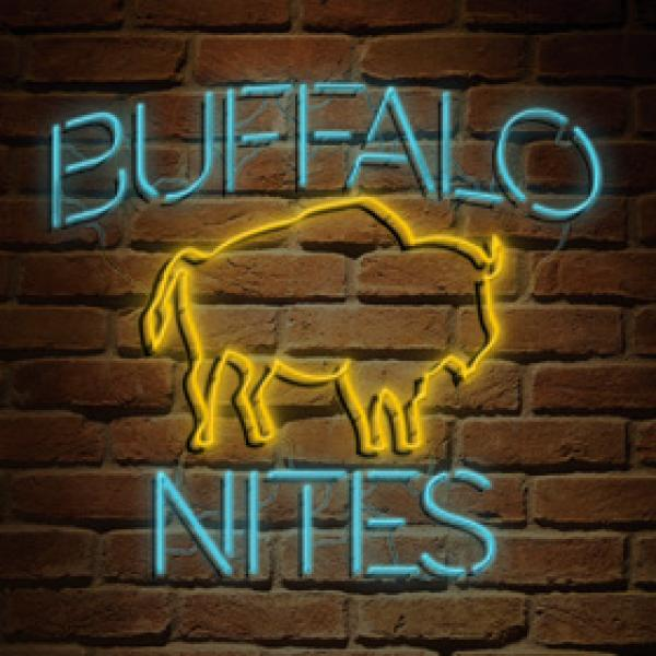 Buffalo Nites neon sign image