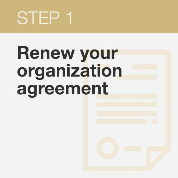 Click here to renew student organization agreeement