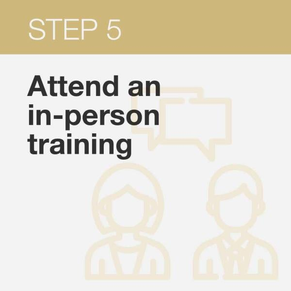 Click here is sign up for an in-person training