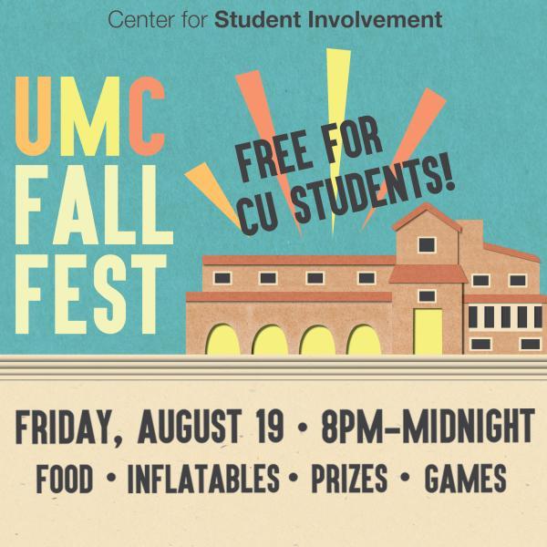 UMC Fall Fest poster image