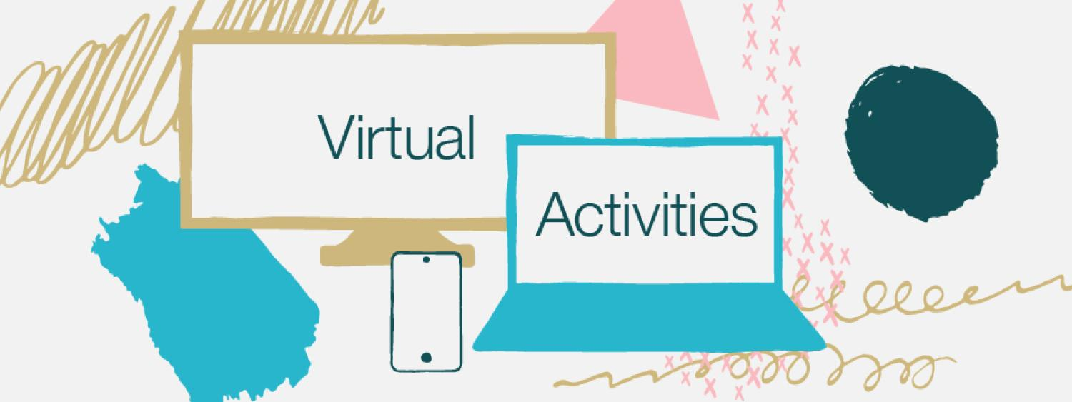 Check out all the virtual activies that Student Affairs has to offer