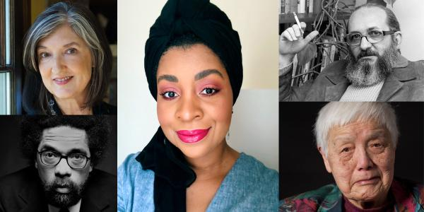 5 photographs of individuals from the People who Inspire Us Page