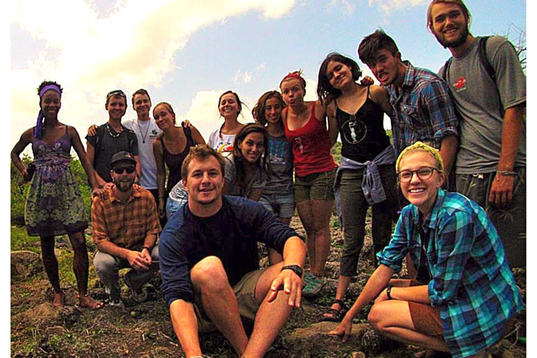 Group photo outside