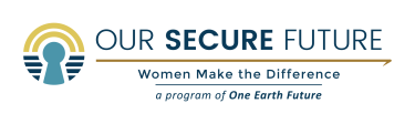Our Secure Future-Women Make the Difference Logo