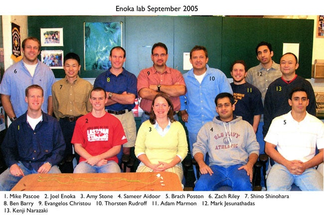 Enoka Lab 2005 September