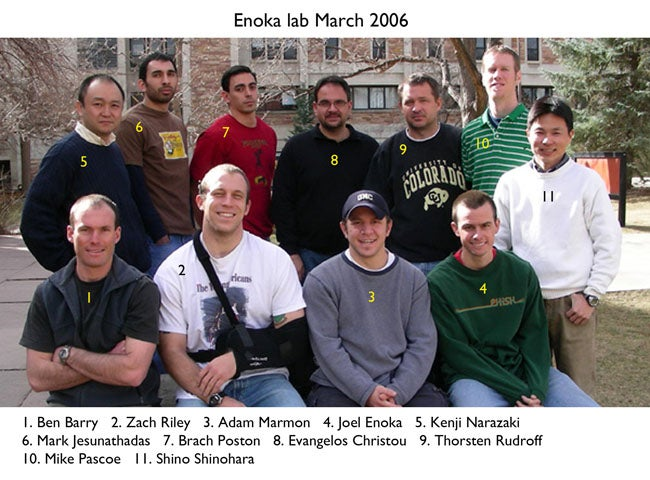 Enoka Lab 2006 March