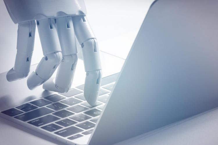 Robot hand and computer