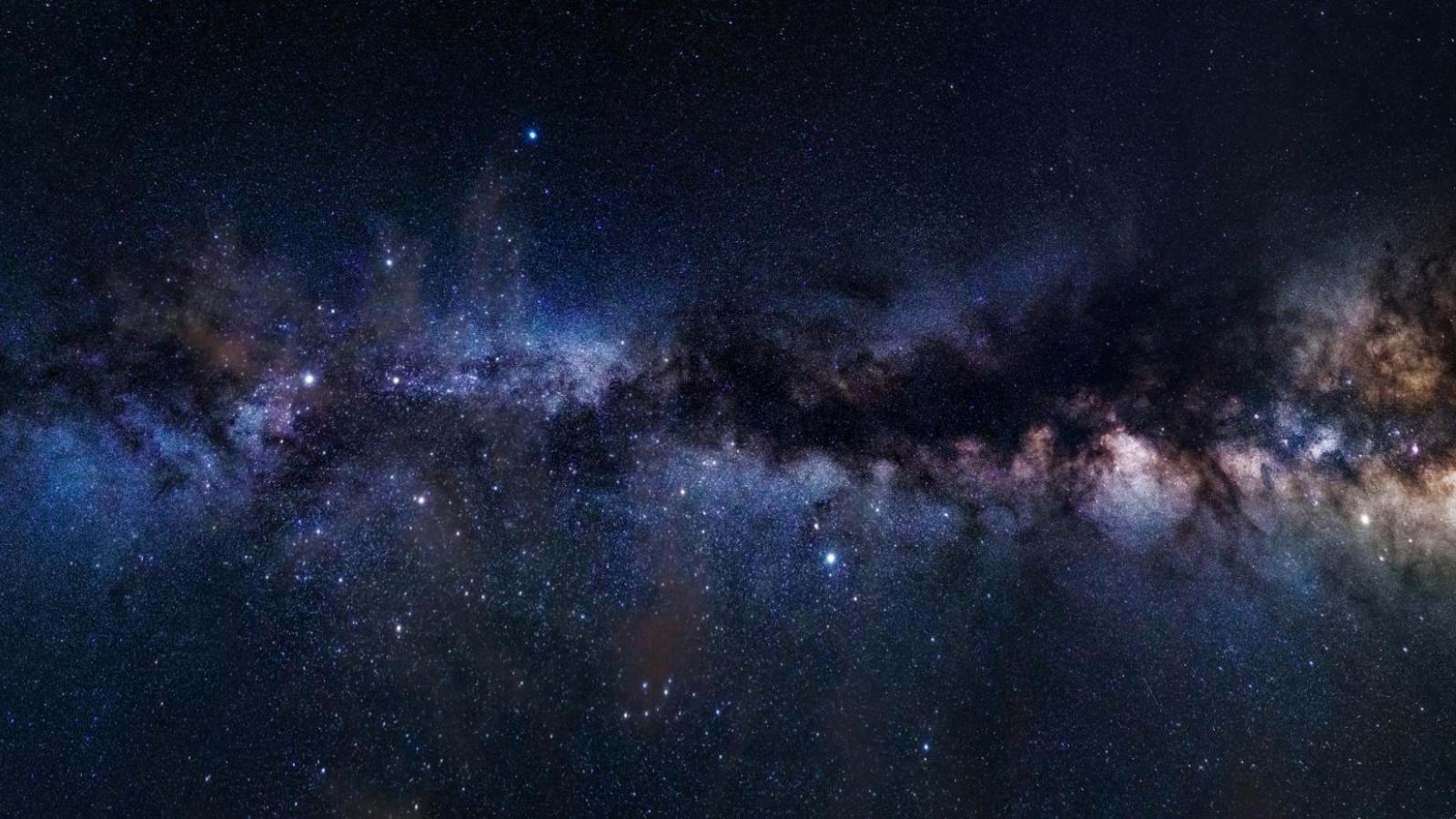 The galaxy as seen from Earth