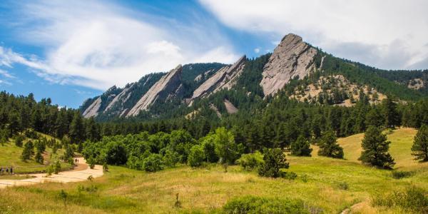 Mountains near Boulder, Colorado