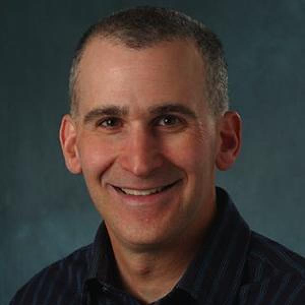 Daniel Schwartz portrait on gray background