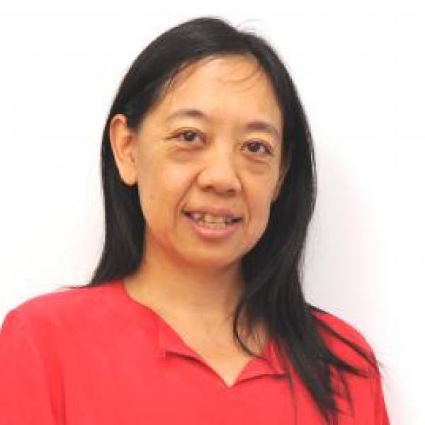 Ellen Yi-Luen portrait on a white background