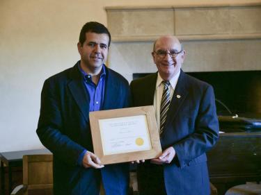 Provost award Mahmoud Hussein