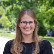 Portrait of Julie Korak outside