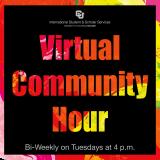 ISSS Virtual Community Hour logo