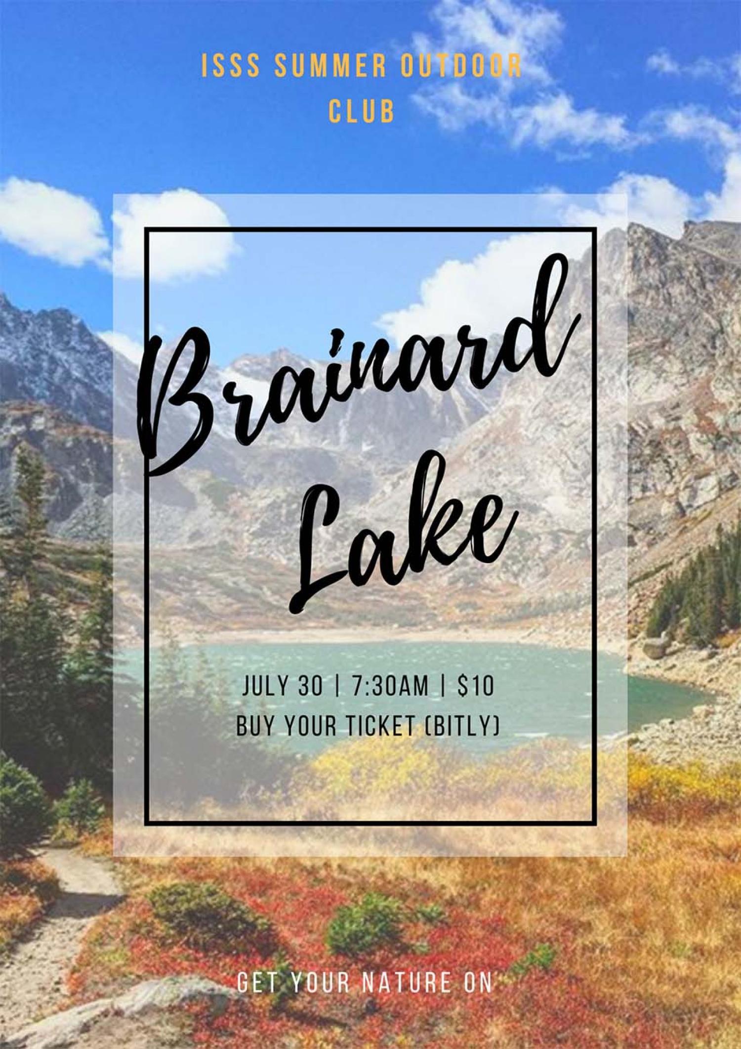 Brainard Lake Event Flyer