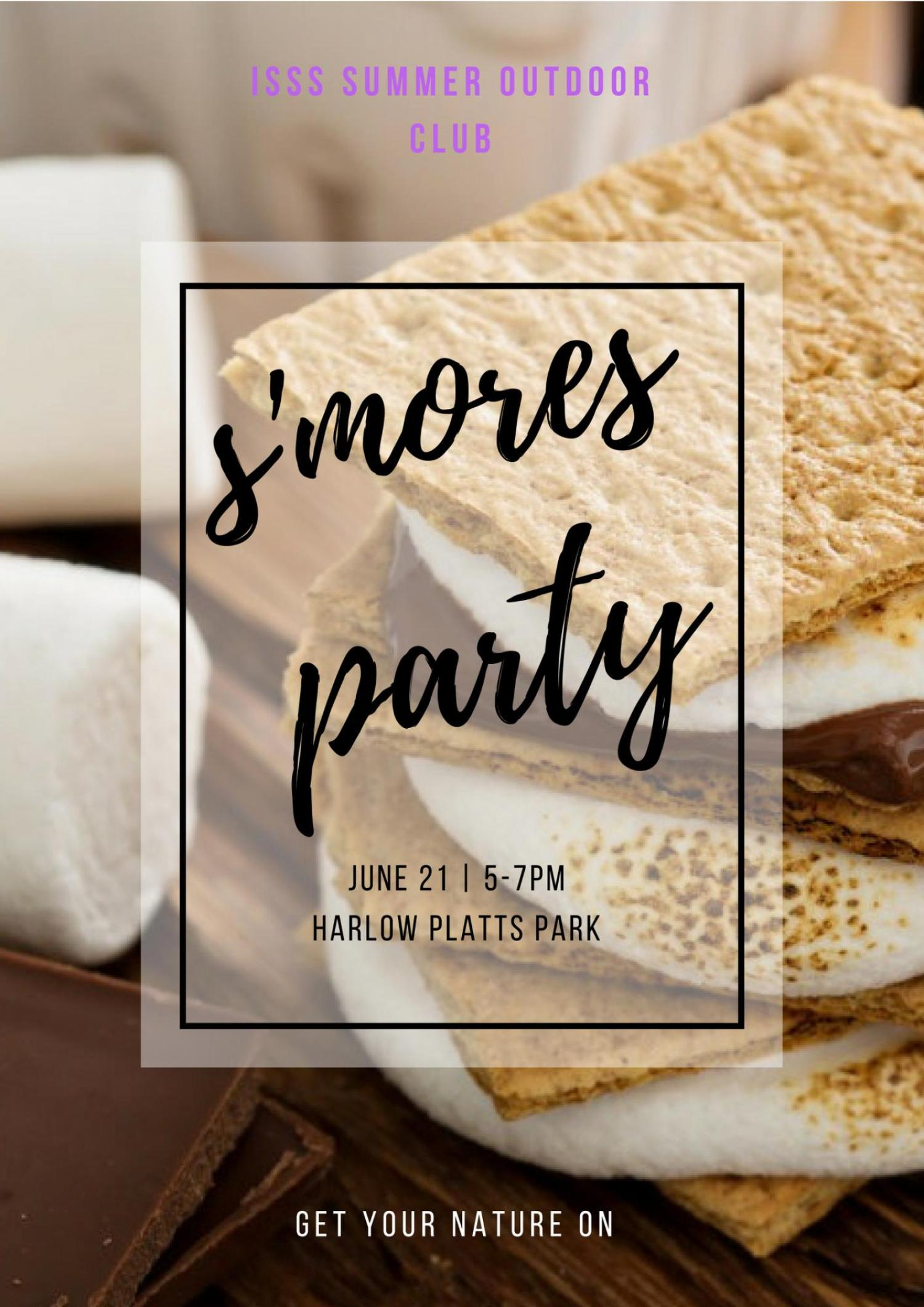 S'mores Party Event Flyer