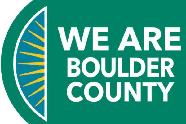 We are Boulder County text