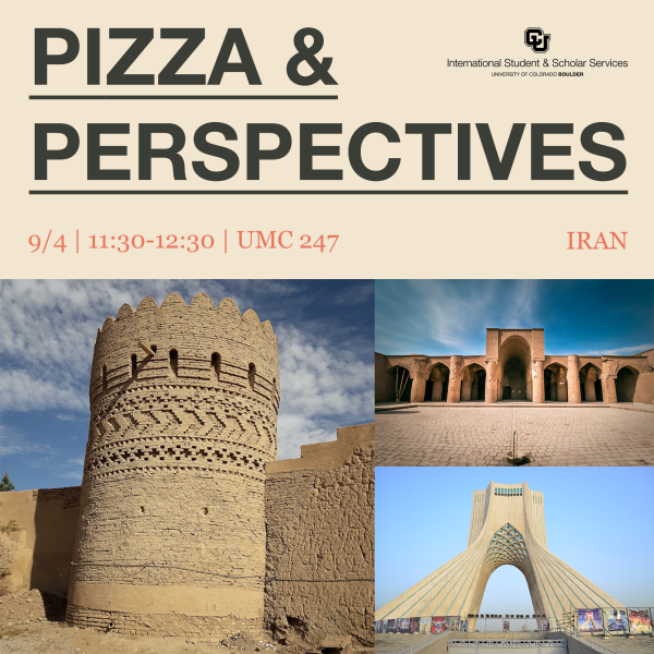 pizza and perspectives iran