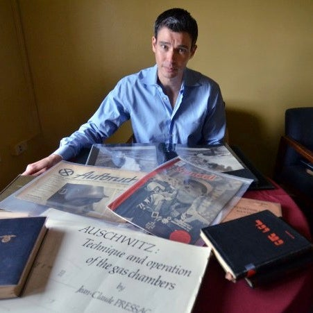 David Shneer with materials from the Mazal Collection
