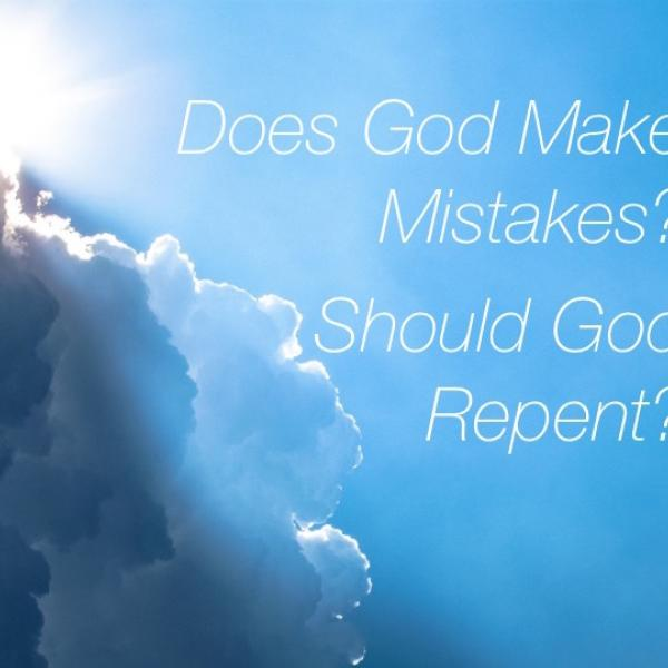Does God Make Mistakes? Sun and clouds