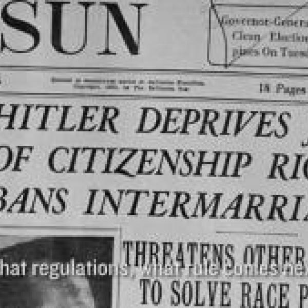 David Shneer - Legalizing 2nd Class Citizenship