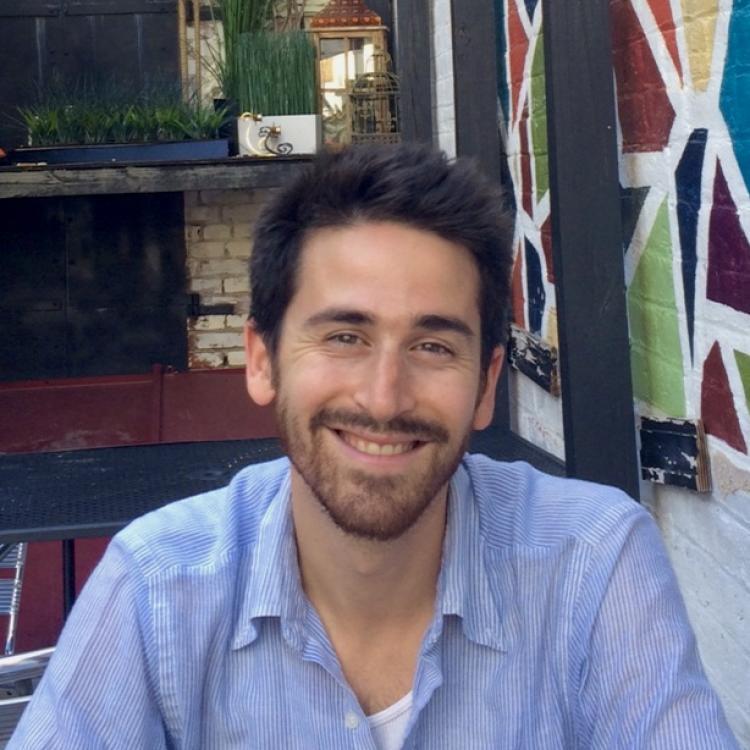 Headshot of visiting scholar Sam Shonkoff
