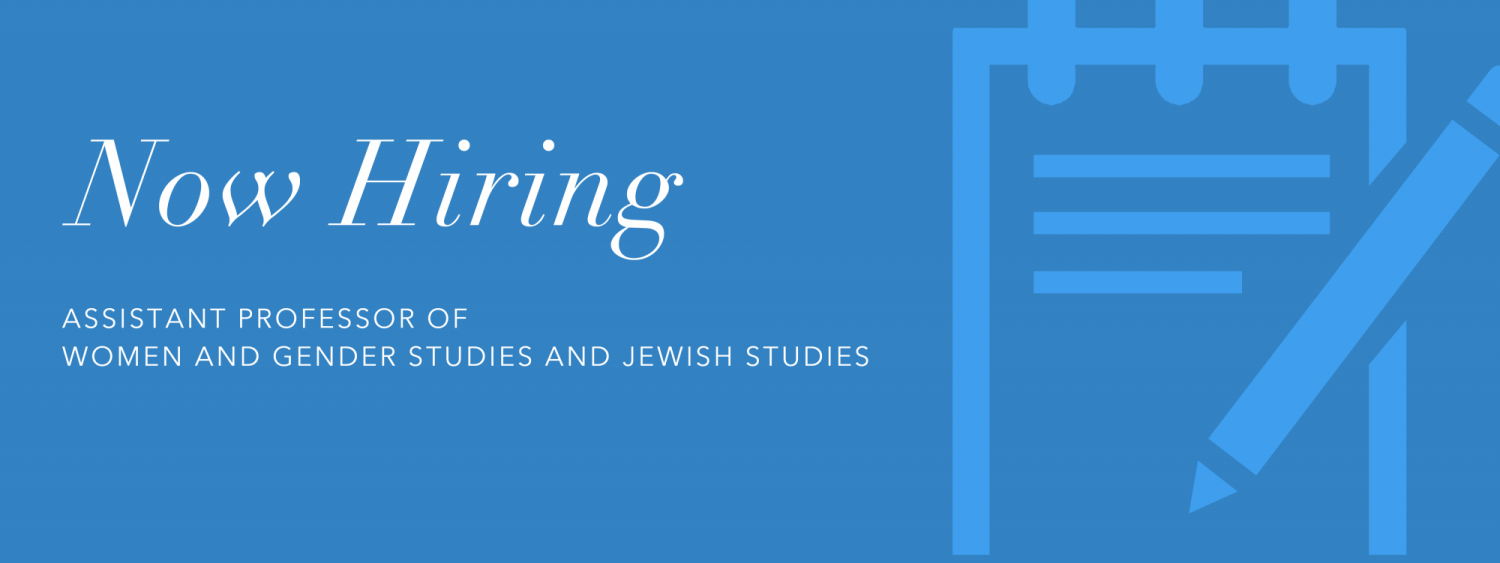 Now Hiring: Assistant Professor of Women & Gender Studies and Jewish Studies at CU Boulder